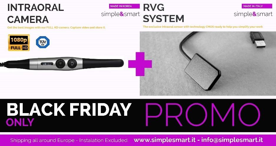 camera + RVG sensor promo